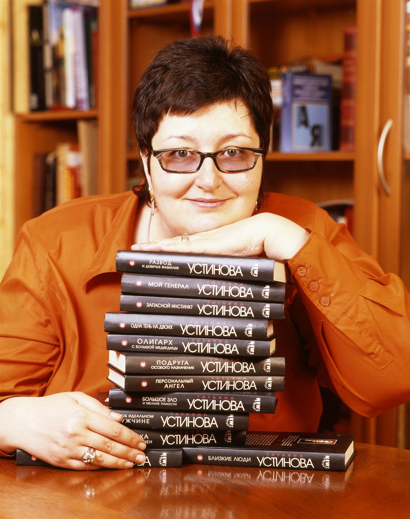 Ustinova Tatyana: biography, books, films